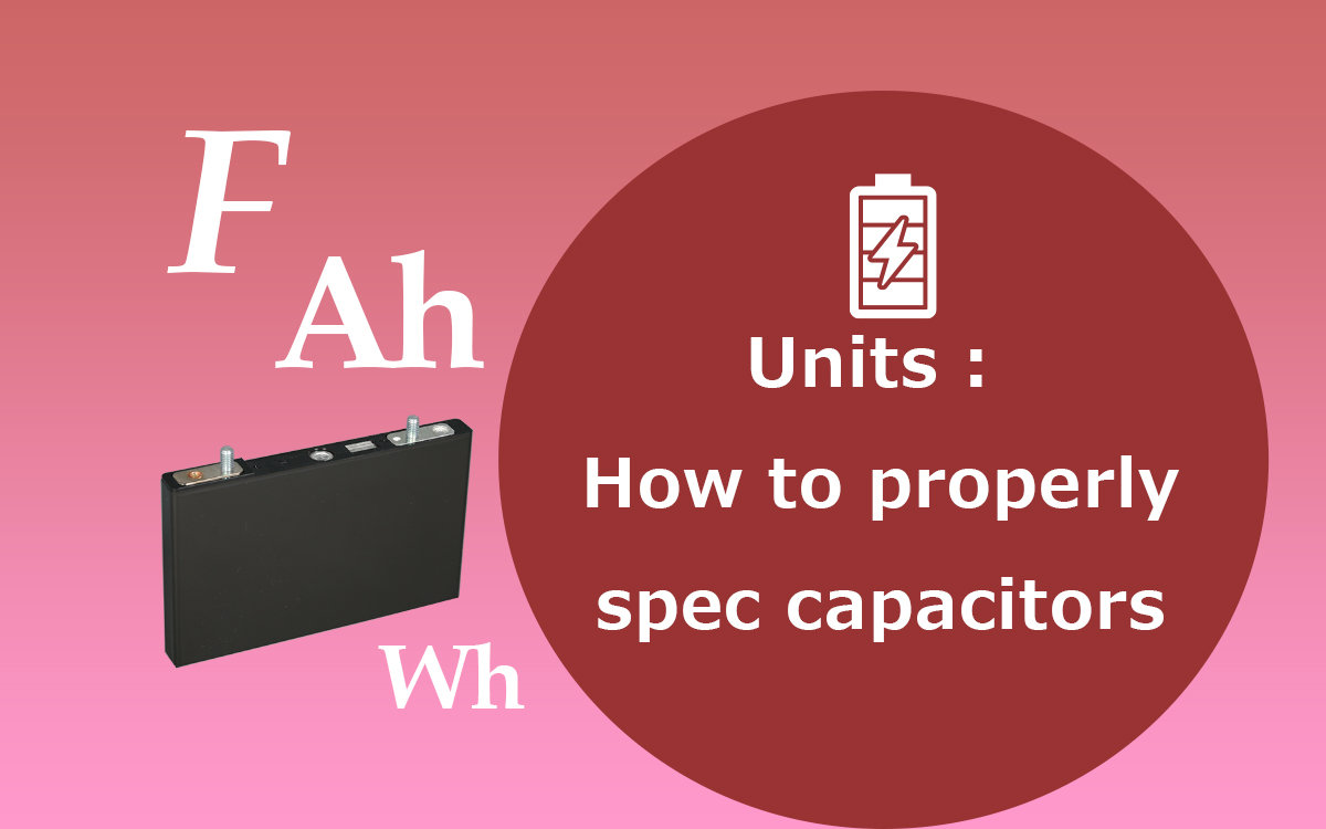 Relationship between capacitor voltage and energy content